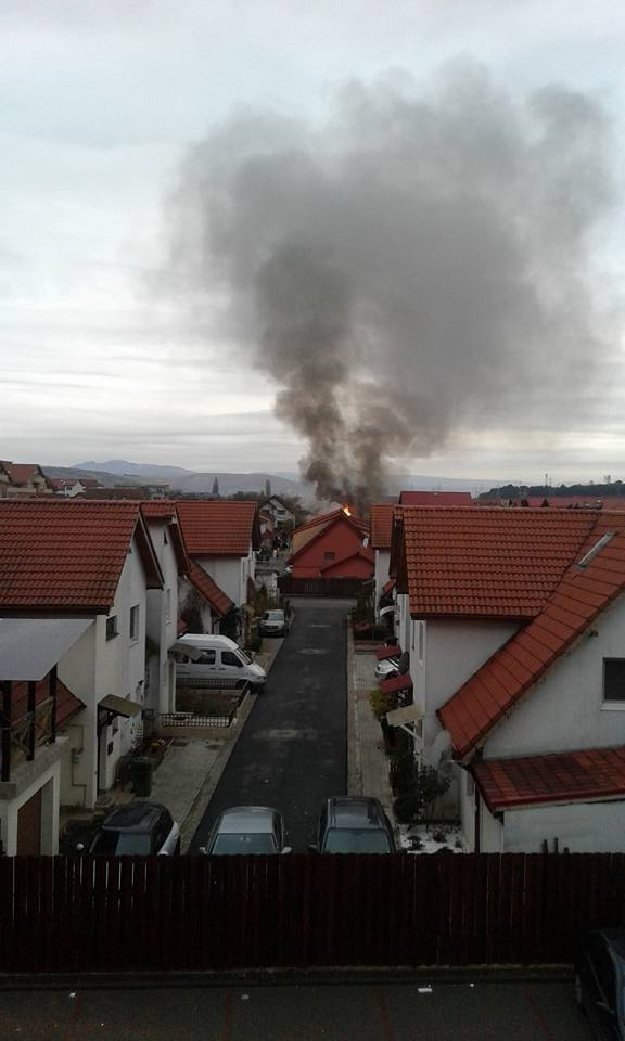 Imagine surprinsă de un locatar din Florești